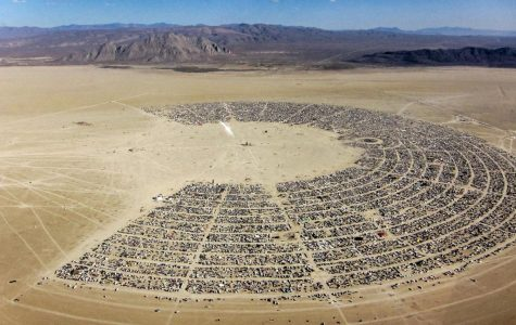 Last year, Burning Man held 70,000 people for the nine day event. (Photo courtesy of Scientific America)