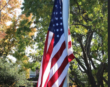Every year for Veterans' Day, the DVC hosts a flag raising event to honor veteran students. (The Inquirer file photo).