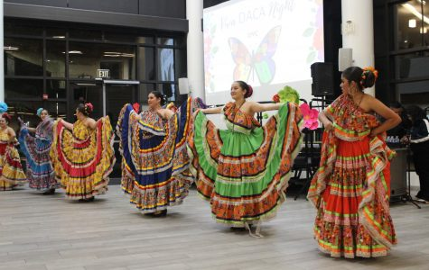 The Viva DACA event was held in the cafeteria on Nov. 7  (Photo courtesy of  Kristina Gomez).