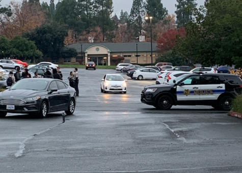 Strong police presence spotted nearby Pleasant Hill campus