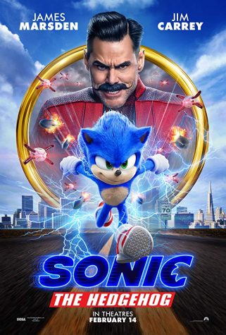 """Sonic the Hedgehog"" sped its way into theaters Feb. 14, collecting its rings after the damaging first trailer left people spin dashing away. (Photo courtesy of IMDB)"