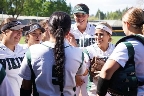 Vikings have 12 new members on the team, overcoming inexperience. (Photo courtesy of Diablo Valley College)