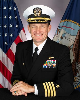 Capt. Brett E. Crozier (Photo courtesy of U.S. Navy)