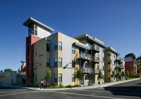 CSU East Bay - Pioneer Heights Student Housing Hayward, California (Photo courtesy of Popochen)