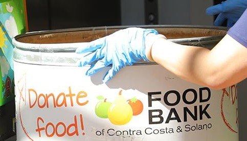 Food Banks, as an essential resource, remain open. (Photo courtesy of Diablo Valley College)