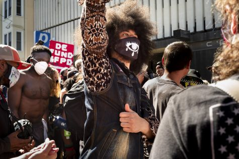 Black Lives Matter protest in San Francisco, courtesy of vhines200 on Flickr.
