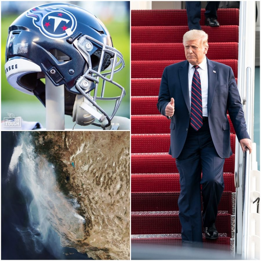 Photos courtesy of the Tennessee Titans, NASA Earth Observatory, and the White House.