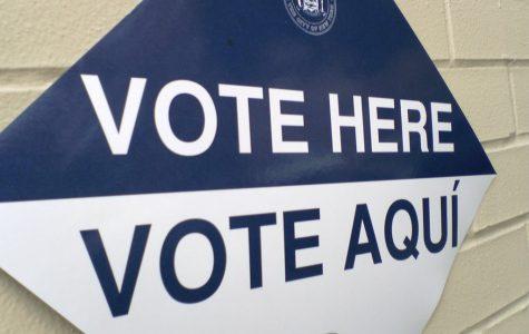Voting sign photo courtesy of Rob Boudon.