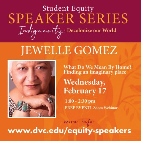 Jewelle Gomez Equity Speaker Series.