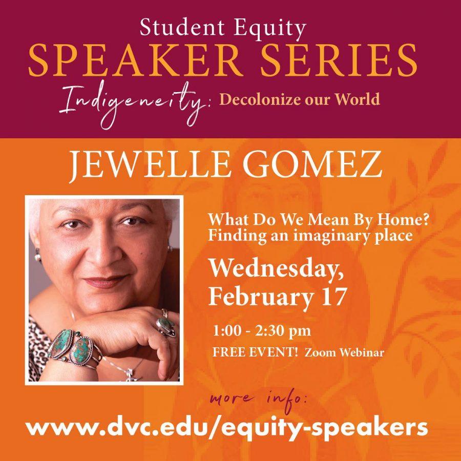 Jewelle Gomez Equity Speaker Series.