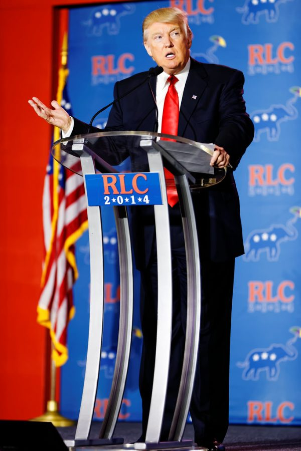 Donald Trump by Michael Vadon is licensed under CC BY-SA 2.0. Courtsey of Michael Vadon. Flickr