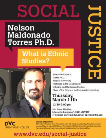 Nelson Maldonado Social Justice Series flyer