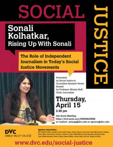 DVC Social Justice Series Flyer