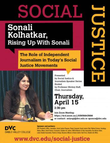 DVC Social Justice Series Flyer