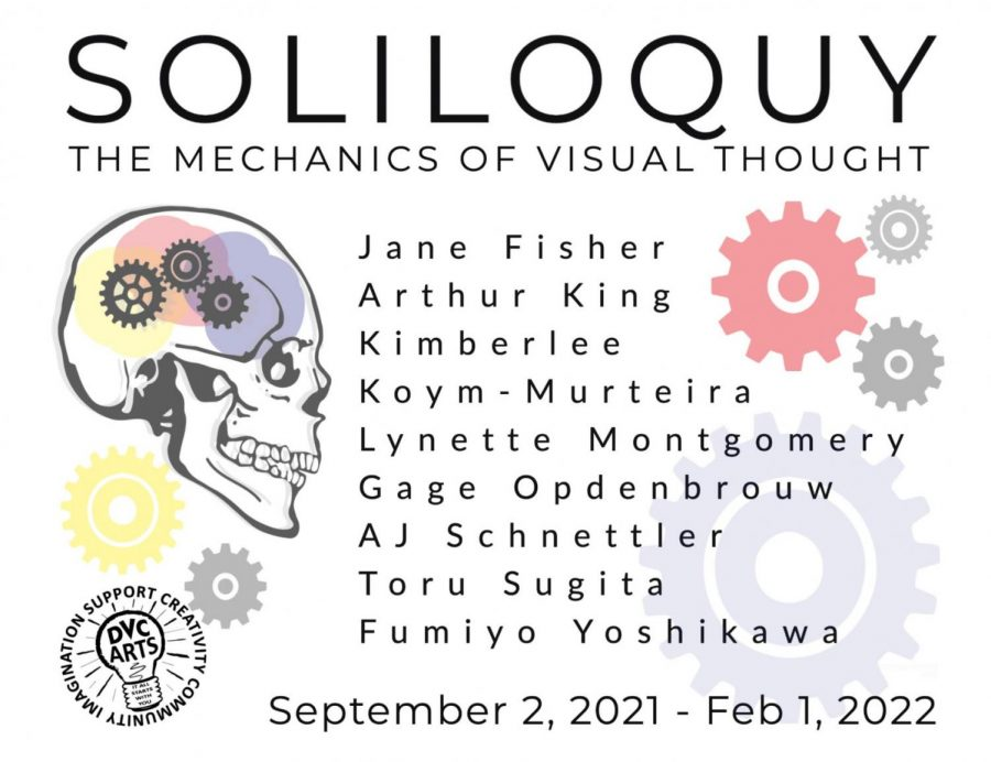 """In New Exhibit """"Soliloquy,"""" Artists from DVC and Beyond Reflect on the Creative Process"""